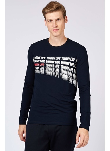 Tommy Life Sweatshirt Lacivert
